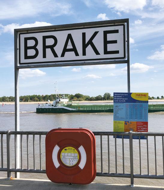 Brake Schild